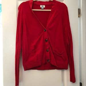 GUC Red Cardigan
